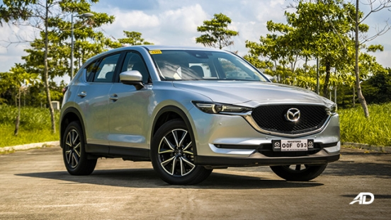 mazda cx-5 road test exterior front quarter