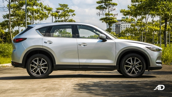 mazda cx-5 road test exterior side philippines