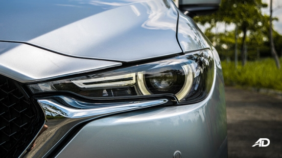 mazda cx-5 road test headlights exterior