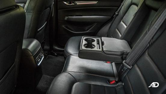 mazda cx-5 road test interior rear cupholders