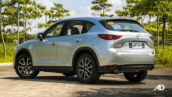 mazda cx-5 road test rear exterior