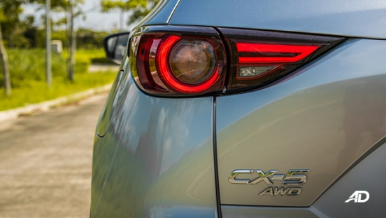 mazda cx-5 road test taillights exterior