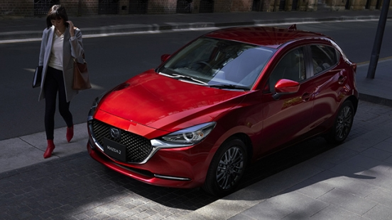 Mazda2 Hatchback launch philippines exterior front quarter