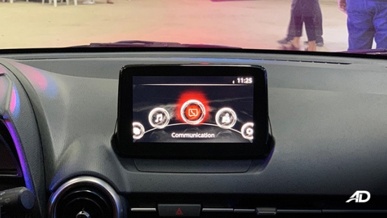 Mazda2 Hatchback launch philippines infotainment system interior