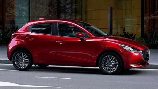 Mazda2 Hatchback launch philippines side front exterior