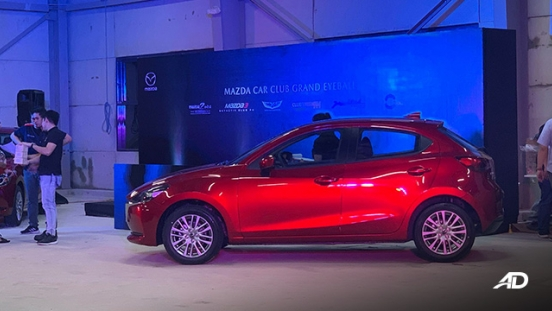 Mazda2 Hatchback launch philippines side view exterior