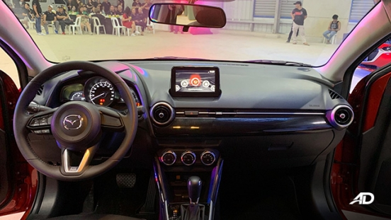 Mazda2 sedan launch philippines dashboard interior