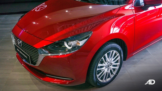 Mazda2 sedan launch philippines fascia exterior