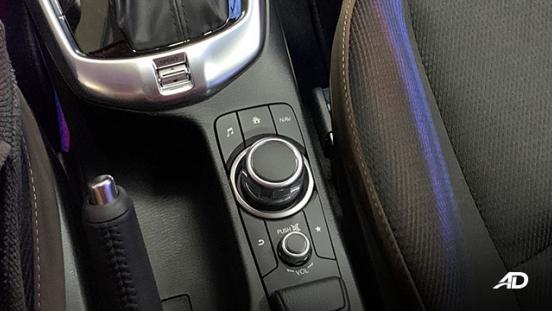 Mazda2 sedan launch philippines infotainment controls interior
