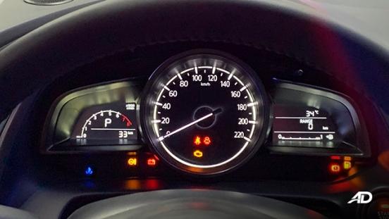 Mazda2 sedan launch philippines instrument cluster interior