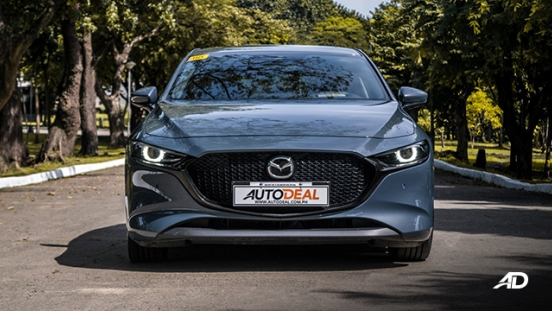 mazda3 sportback road test review polymetal gray front exterior philippines