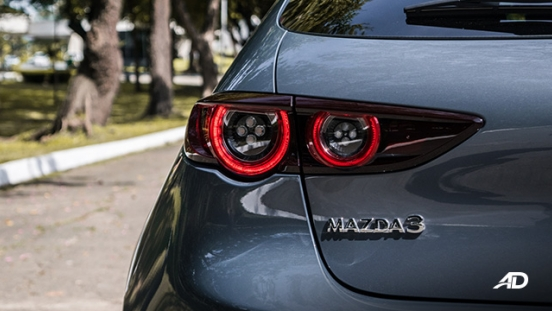 mazda3 sportback road test review polymetal gray LED taillights exterior philippines