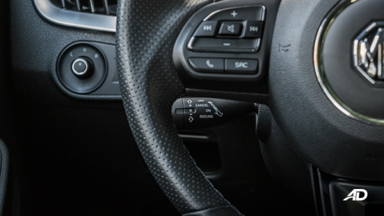 mg rx5 review road test cruise control interior