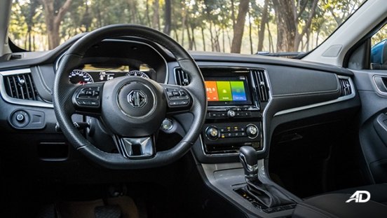 mg rx5 review road test front cabin interior philippines