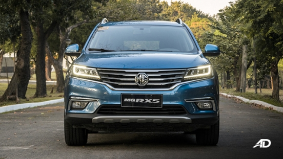 mg rx5 review road test front exterior