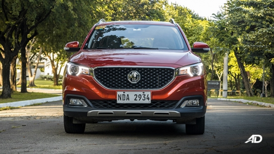 mg zs review road test front exterior philippines