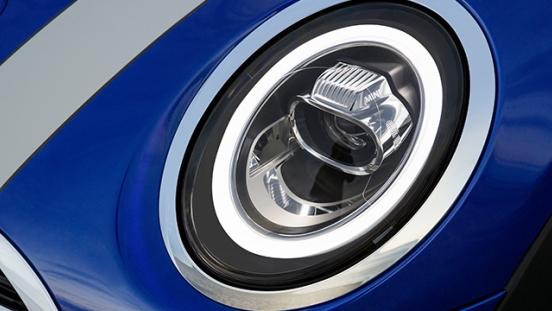 MINI Cooper Convertible 2018 headlight