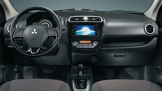 Mitsubishi Mirage 2018 interior