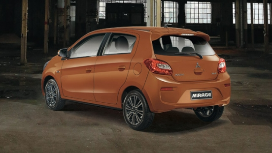 Mitsubishi Mirage 2018 rear