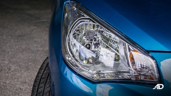 mitsubishi mirage g4 road test exterior headlights philippines