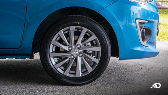 mitsubishi mirage g4 road test exterior wheels philippines
