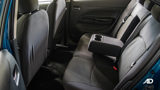 mitsubishi mirage g4 road test interior cupholders
