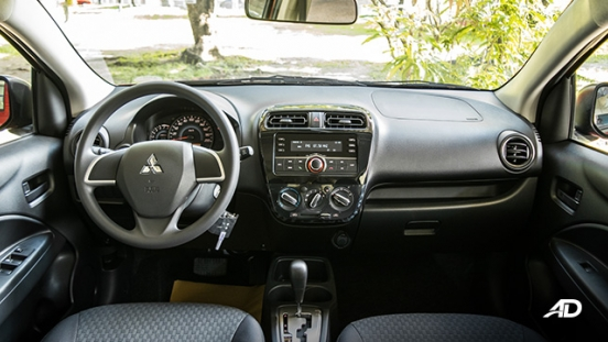 mitsubishi mirage road test dashboard interior philippines
