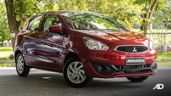 mitsubishi mirage road test front exterior philippines