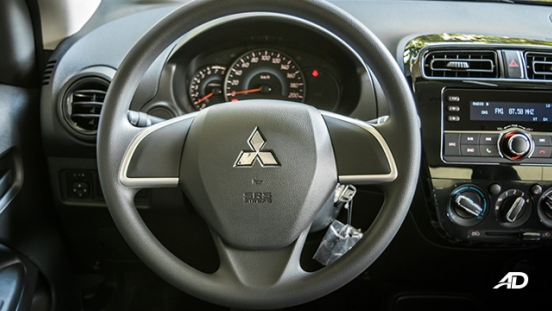 mitsubishi mirage road test steering wheel philippines