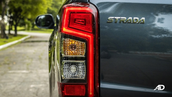 mitsubishi strada review road test LED taillights exterior philippines