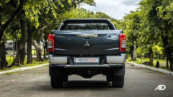 mitsubishi strada review road test rear exterior