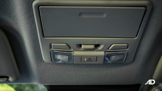 mitsubishi strada review road test sunglass holder interior