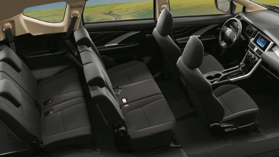 Mitsubishi Xpander 2018 seats