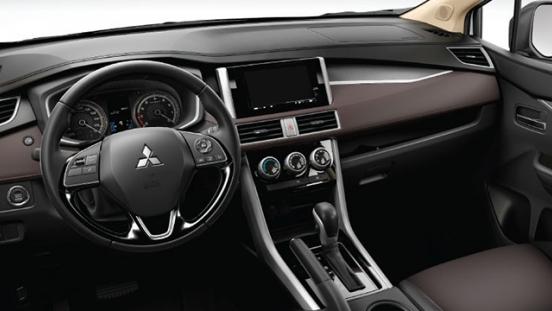mitsubishi xpander cross press photo dashboard interior philippines