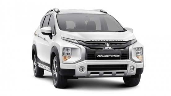 mitsubishi xpander cross press photo front quarter exterior philippines