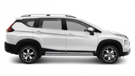 mitsubishi xpander cross press photo side view exterior philippines