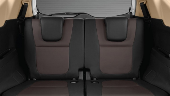 mitsubishi xpander cross press photo third row interior