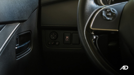 mitsubishi xpander road test controls interior
