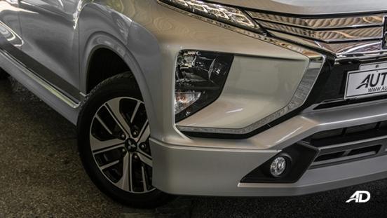 mitsubishi xpander road test fog lamps exterior