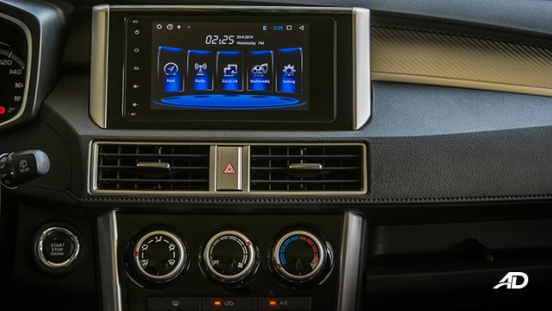 mitsubishi xpander road test touchscreen infotainment philippines