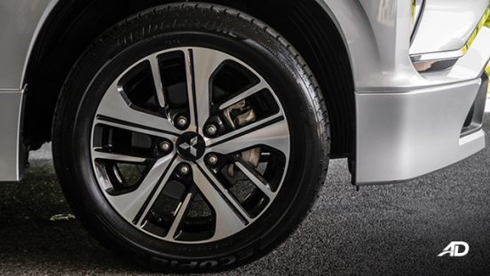 mitsubishi xpander road test wheels exterior