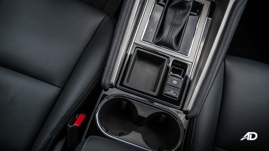 montero sport interior electronic parking