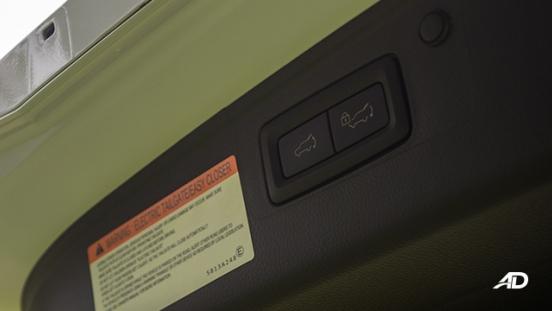 montero sport power tailgate interior