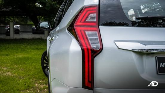 montero sport taillights exterior