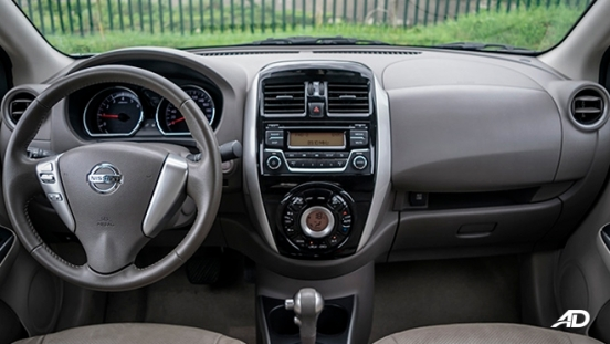 nissan almera road test review dashboard interior philippines
