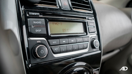 nissan almera road test review head unit interior philippines