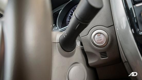 nissan almera road test review push start ignition interior