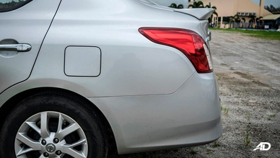 nissan almera road test review rear exterior