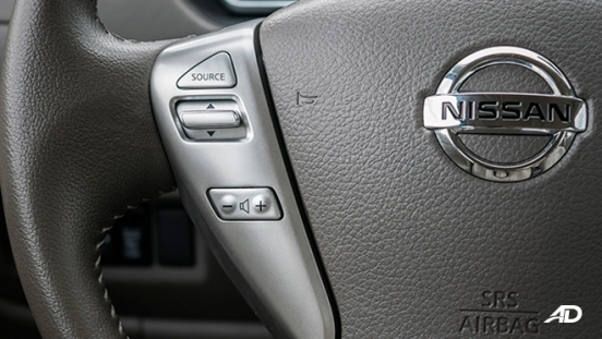 nissan almera road test review steering buttons interior