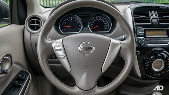 nissan almera road test review steering wheel interior philippines